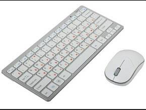 Беспроводная ультратонкая клавиатура с мышкой L-Pro 1288