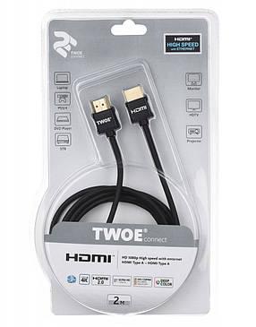 2E Кабель Ultra Slim HDMI 2.0 (AM/AM) [2EW-1119-2m], фото 2
