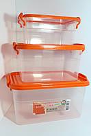 Набор контейнеров пищевых 3 шт.
