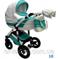 Детская коляска Aneco Futura Ecco 2 в 1, эко-кожа+ткань 10
