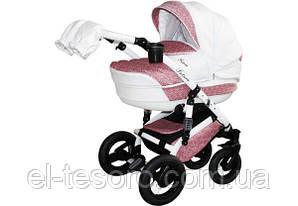 Детская коляска Aneco Futura Ecco 2 в 1, эко-кожа+ткань 02