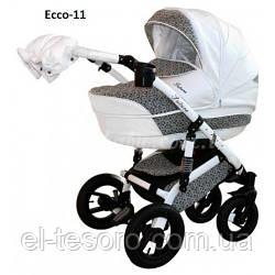Детская коляска Aneco Futura Ecco 2 в 1, эко-кожа+ткань 11