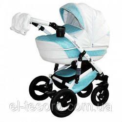 Детская коляска Aneco Futura Ecco 2 в 1, эко-кожа+ткань 01