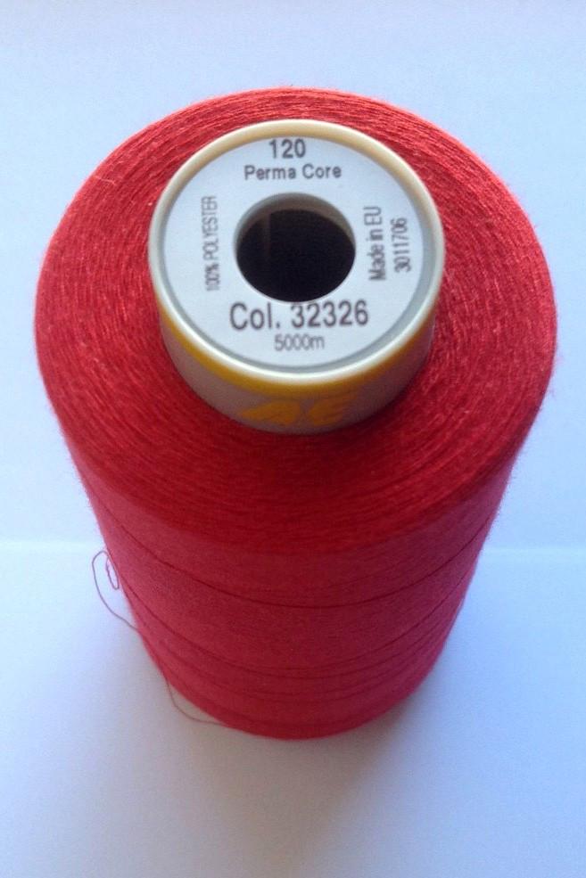 Нитки Gutermann Perma Core 32356 /120/ червоний