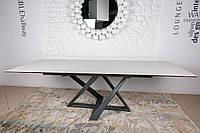 Стол обеденный FLEETWOOD NEW (Флитвуд) керамика молочный от Niсolas (бесплатная доставка)