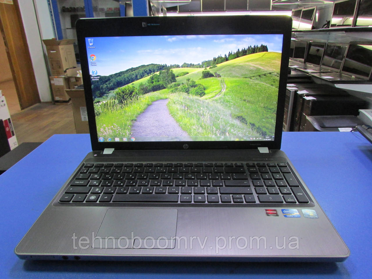 HP ProBook 4530s - Intel i5-2450M 3.1GHz/HDD 750GB/DDR3 4GB