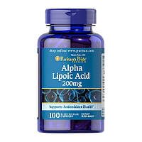 Альфа-липоевая кислота Puritan's Pride Alpha Lipoic Acid 200 mg 100 капсул
