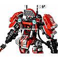 "Конструктор Lepin 06052 ""Огненный робот Кая"" Ниндзяго Муви, 1010 деталей. Аналог Lego Ninjago Movie 70615, фото 6"