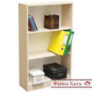 Этажерка деревянная, шкаф, стеллаж, полка для книг (цвет в ассортименте)