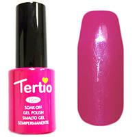 Гель-лак Tertio 018 Цикламеновый эмалевый плотный без перламутра и микроблеска, 10 мл.