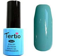 Гель-лак Tertio 028 Голубой эмалевый светлый, 10 мл.