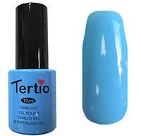 Гель-лак Tertio 098 Небесно-голубой эмалевый плотный., 10 мл.
