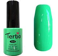 Гель-лак Tertio 099  Светлый зелёный эмалевый плотный., 10 мл.