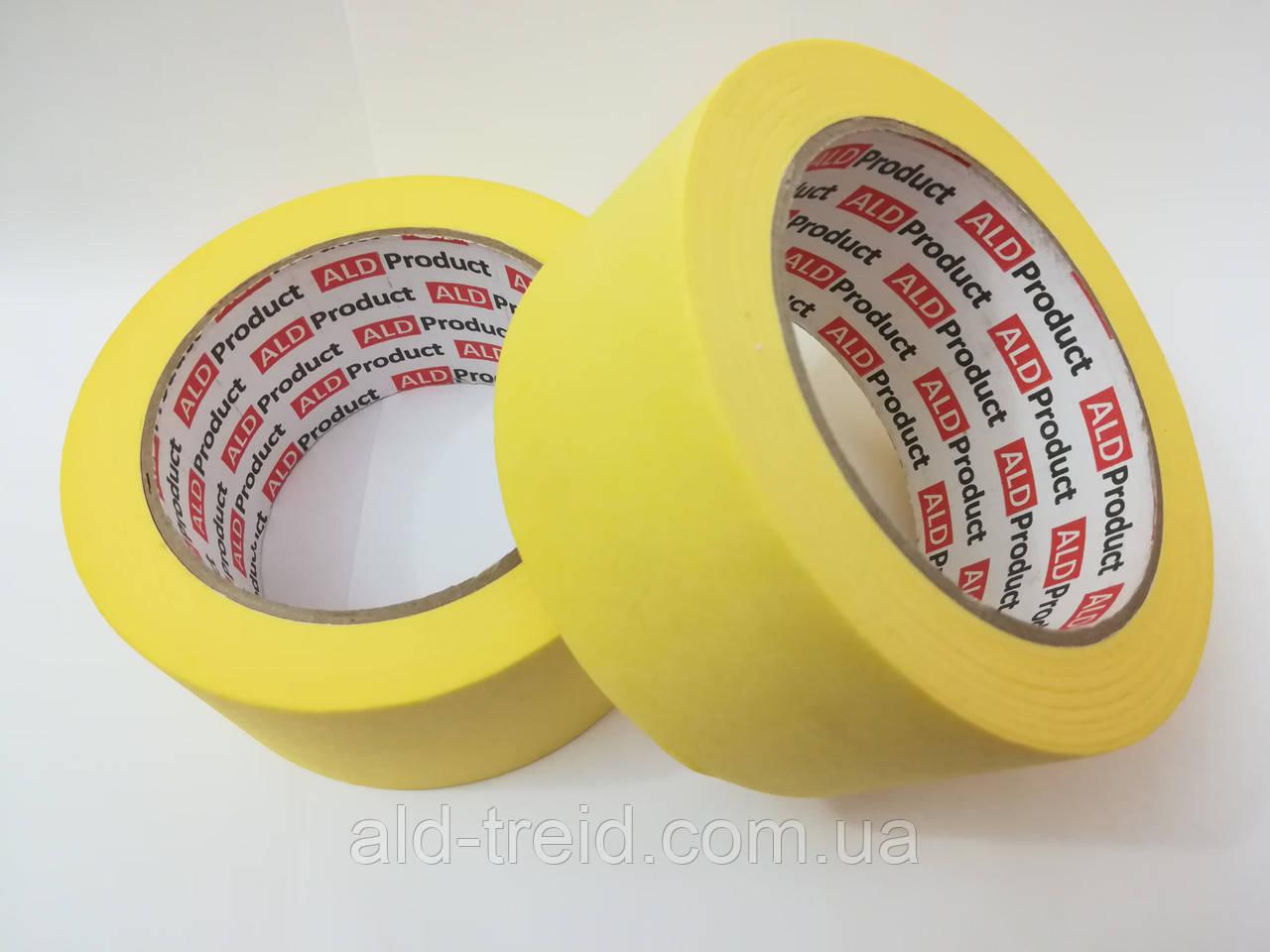 Скотч малярный 24*50 (40 мкм) ALD Product желтый