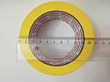 Скотч малярный 24*50 (40 мкм) ALD Product желтый, фото 3