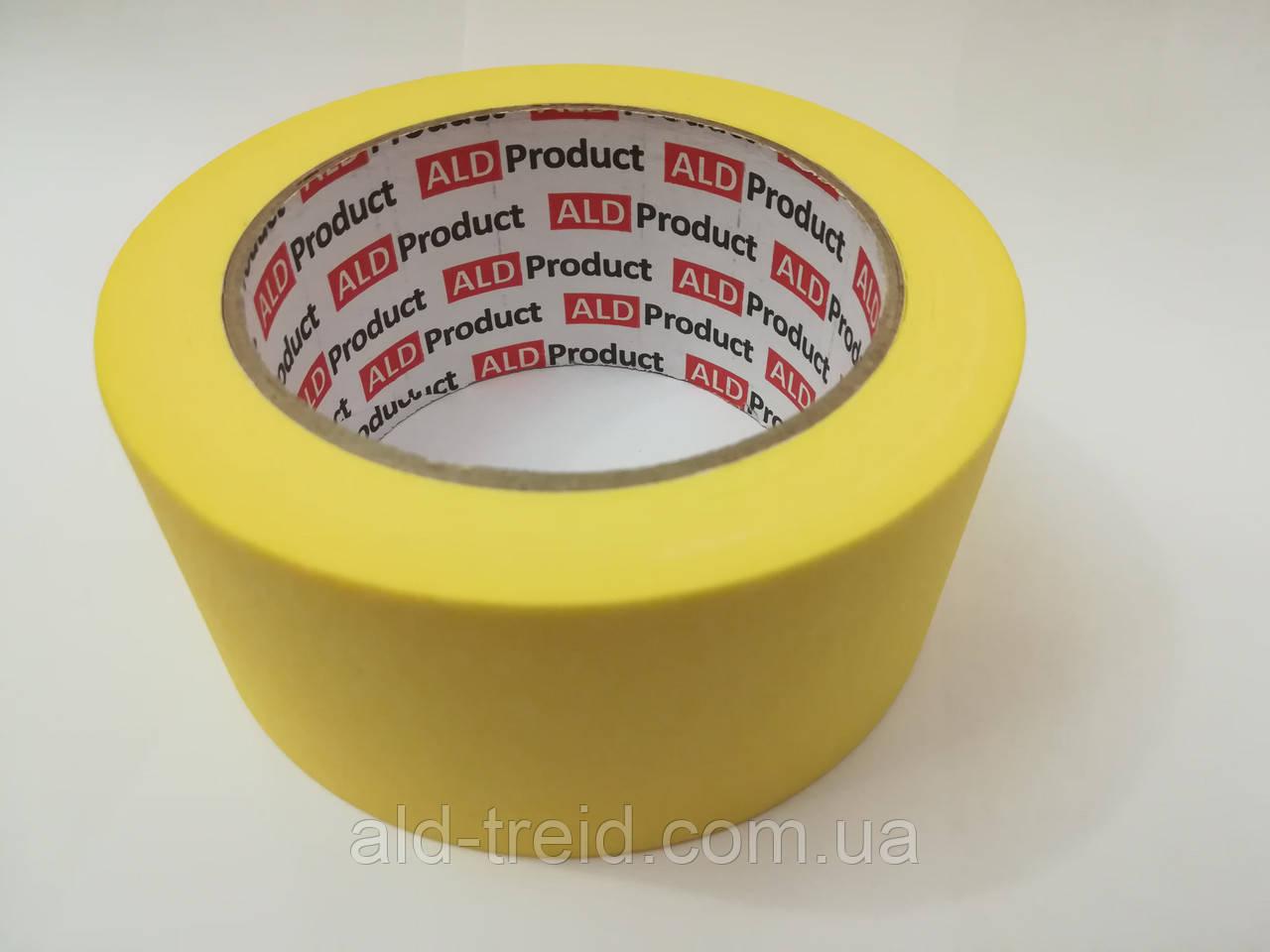 Скотч малярный 48*50 (0,40) ALD Product желтый