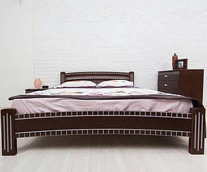 Кровать с фрезировкой Олимп Милана Люкс, фото 2
