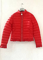 Куртка пуховик короткая красная, фото 1