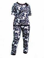 Комфортный домашний, прогулочный, спортивный  костюм из вискозы р 48-50,52-54