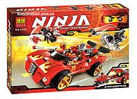 """Конструктор Bela 9796 """"Ниндзя перехватчик Х-1"""" Ниндзяго, 425 деталей. Аналог Lego Ninjago 70727, фото 1"""