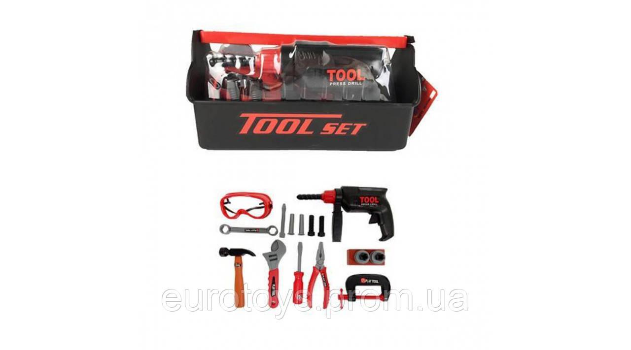 Tool Set Игрушечные инструменты - ящик с инструментами, 18 шт