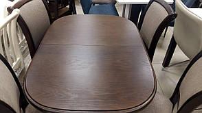 Стол обеденный деревянный   Эмиль  Fusion Furniture, цвет лесной орех, фото 2