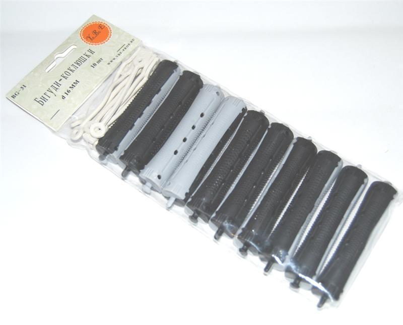 Бигуди Коклюшки диам.16 мм. уп. 10 шт.