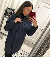 Пальто женское оверсайз из шерсти 33PA106 95c94de80605e