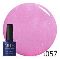 Гель-лак NUB Shimmering Pink Taupe 057
