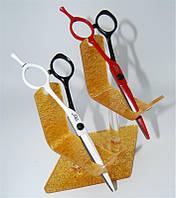 Подставка для ножниц на 2шт золото