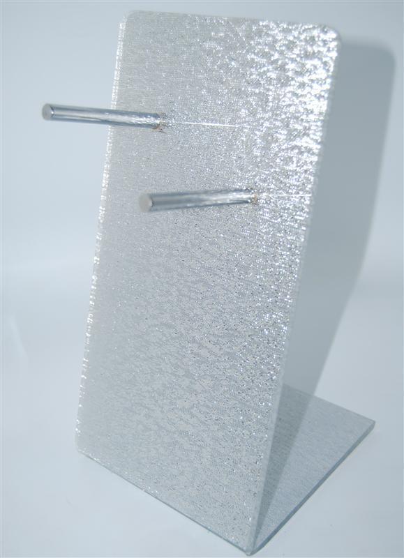 Подставка для фена серебро