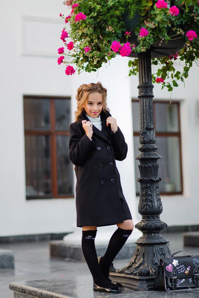 Пальто LiLove 367 152 черный