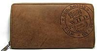 Стильный кожаный женский кошелёк Always Wild