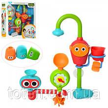 Іграшка для ванної 20007 для купання, водоспад, на присоску, на батарейках