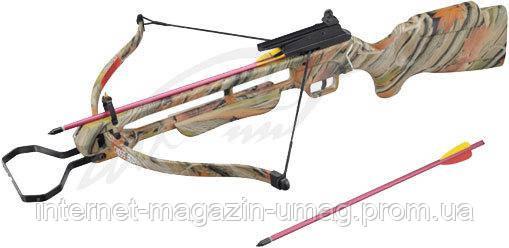 Арбалет Man Kung MK-200A1AC винтовочного типа, пластиковый приклад