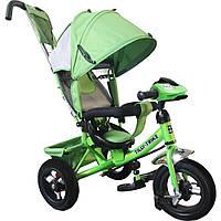 Детский Велосипед трехколесный TILLY Trike T-364 ЗЕЛЕНЫЙ