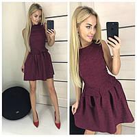 """Стильное платье мини """" Жаккард """" Dress Code , фото 1"""