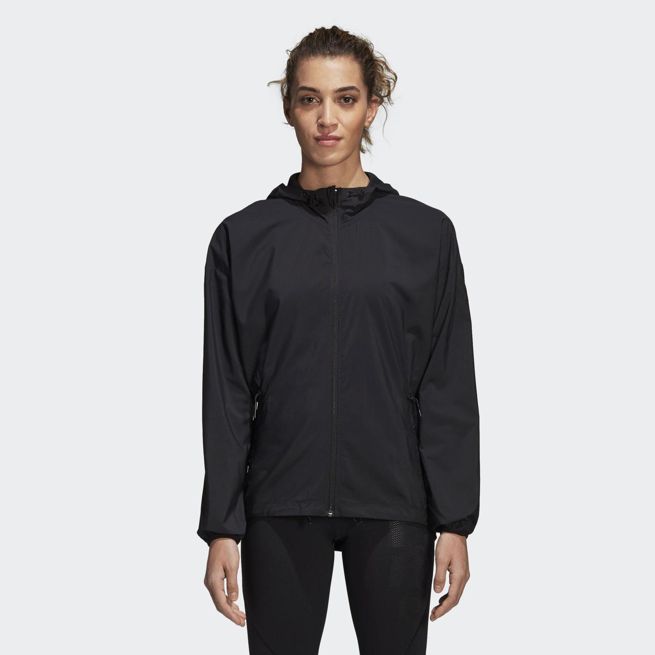 Женская куртка Adidas Performance Woven (Артикул  CX5330) - Адидас  официальный интернет - магазин f1d832e2159