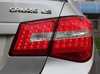 Ліхтарі Chevrolet Cruze тюнінг Led оптика (стиль мерс)