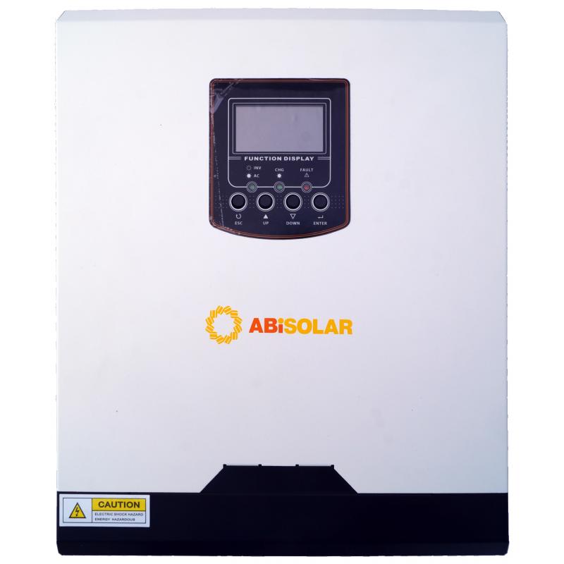 Инвертор ABi-Solar SLP 3024 MPPT Plus с пылезащитой (2,4 кВт, 1 фаза / 1,5 кВт DC, 24 В)