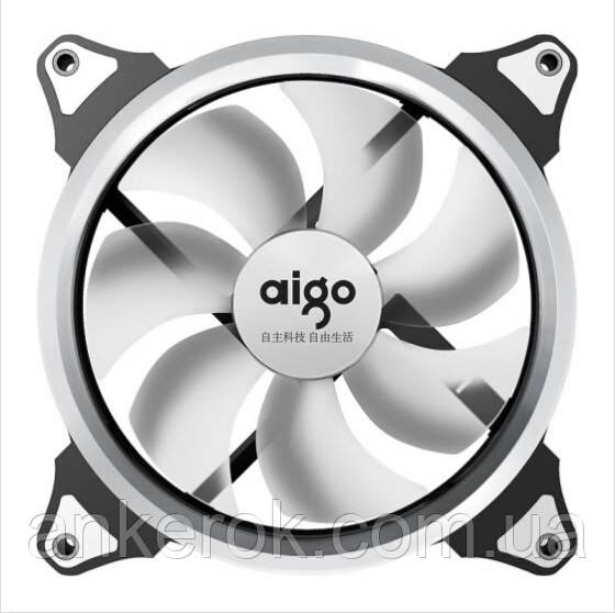 Вентилятор Aigo Aurora 140mm LED (White)