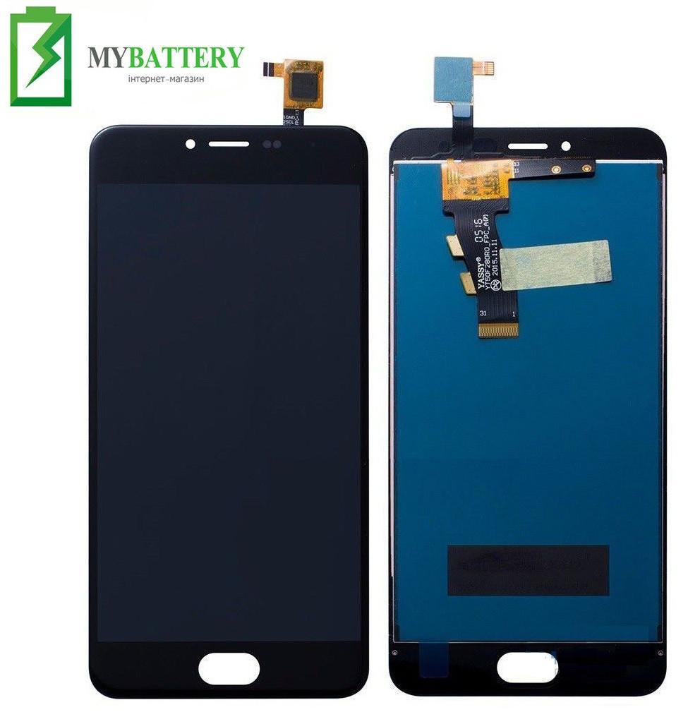 Дисплей (LCD) Meizu M3/M3 mini (M688H) з сенсором чорний