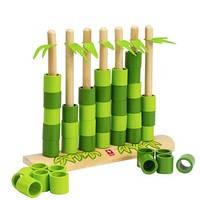 """Деревянный набор игра из бамбука Hape """"Quattro"""", фото 2"""