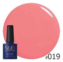 Гель-лак NUB Smoothie Pink 019