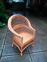 """Кресло из лозы """"Обычное"""", фото 1"""