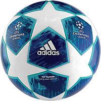 Мяч футбольный Adidas Finale 2018 Top Training FIFA CW4134 сине-белый, размер 5, фото 1