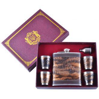 Подарочный набор Фляга/Рюмки/Лейка №GT-061 - STOCKMAX в Одессе