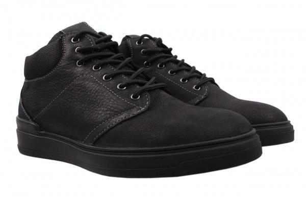 Ботинки Samas нубук, цвет черный