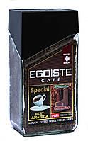 Кофе растворимый с добавлением молотого Egoiste Special 100 г в стеклянной банке (415)