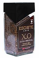 Кофе растворимый с добавлением молотого Egoiste X.O Extra Original 100 г в стеклянной банке (417)